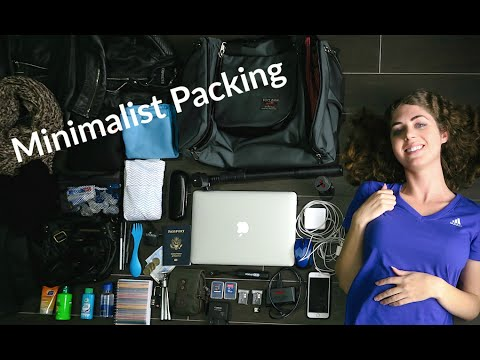 What I'm Packing – 4 Months of Minimalist Travel
