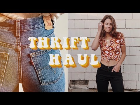 a (european) try on thrift haul