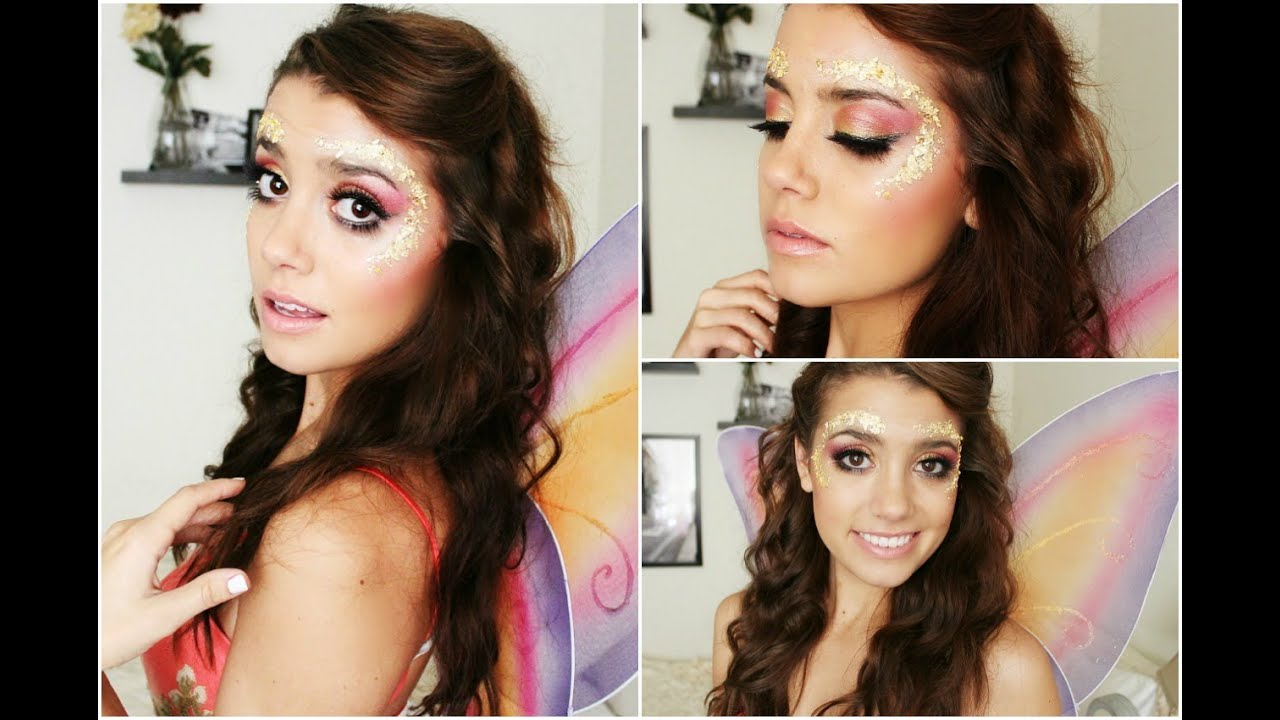 Fairy | Halloween Tutorial! ♥ (Makeup, Hair & Outfit)