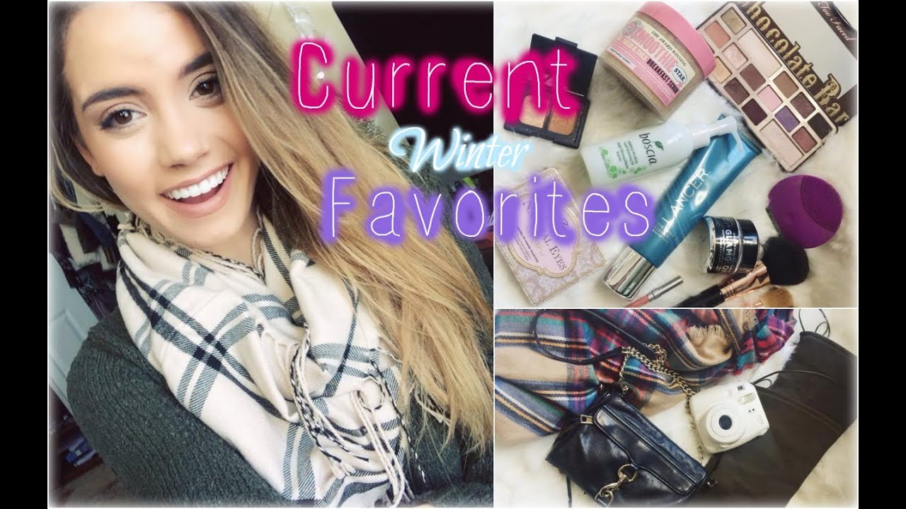 my current winter favorites