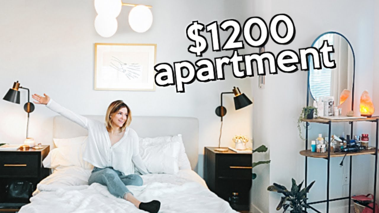 SEATTLE APARTMENT TOUR ($1200 A Month)
