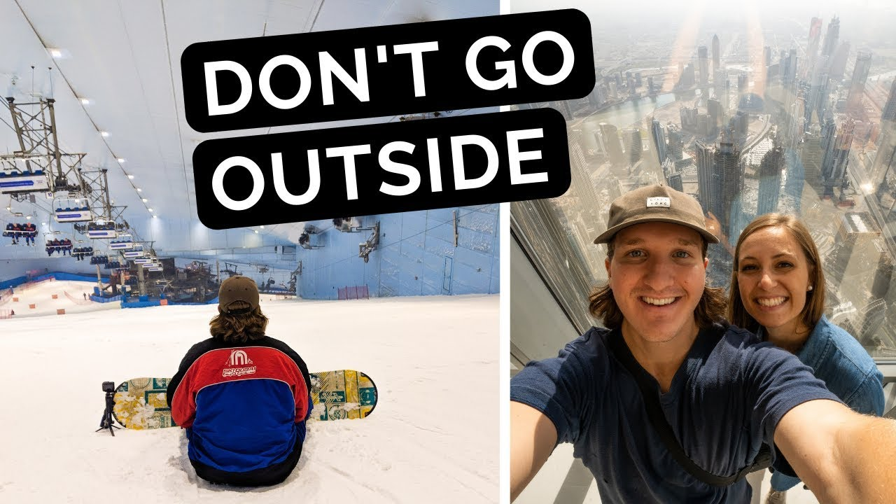 CHALLENGE: Try Not to Go OUTSIDE | Dubai, UAE
