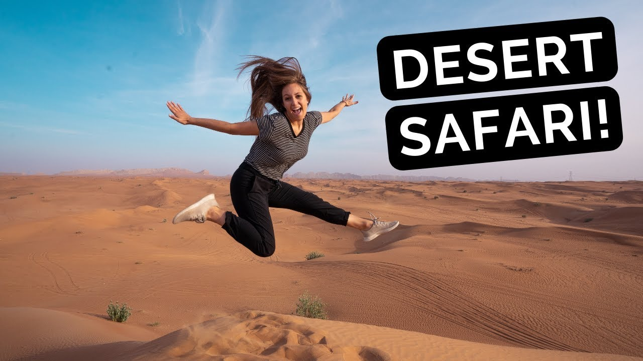 DUBAI DESERT SAFARI | Dune BASHING, Belly DANCING, SandBOARDING, and Camel RIDING