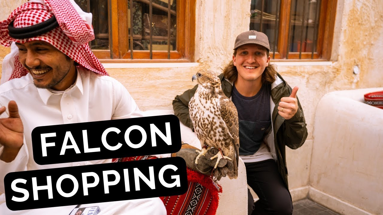 FALCON SHOPPING in QATAR! Exploring the RICH Middle East