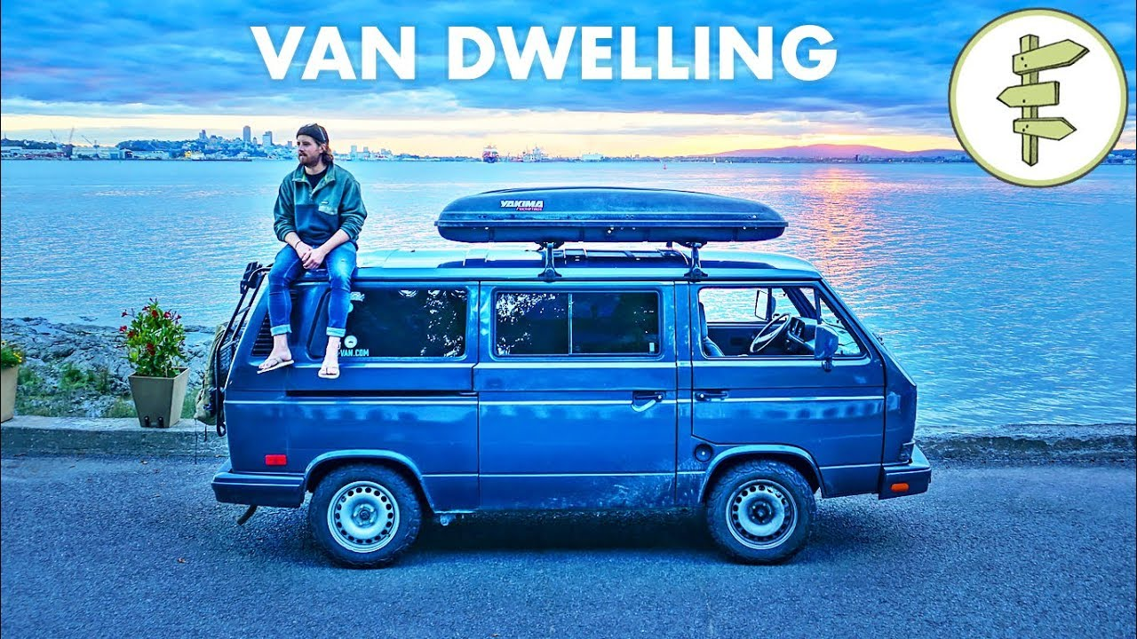 Successful 22-Year-Old Filmmaker Living in a Tiny Camper Van – vanlife