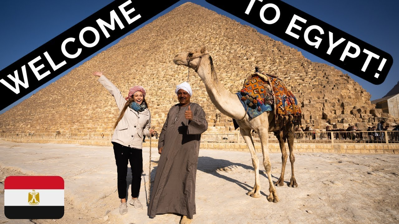WE SNUCK into the GREAT PYRAMIDS of GIZA! | Exploring Egypt