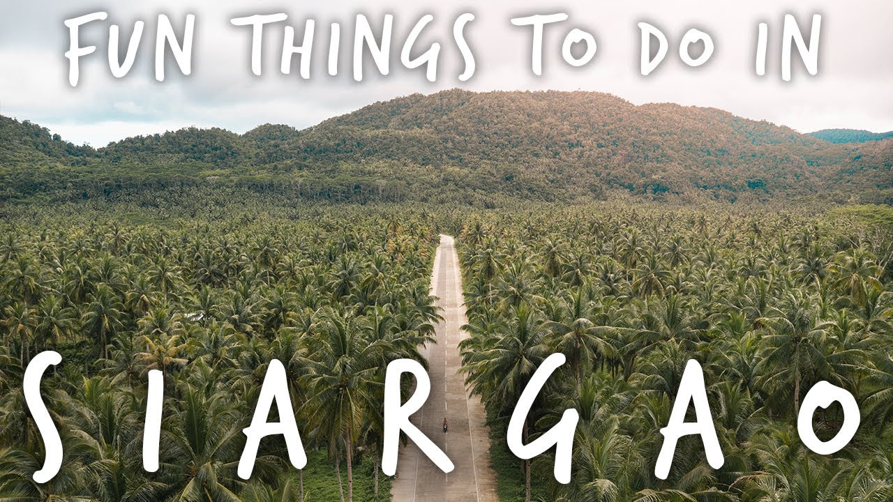 things to do on SIARGAO ISLAND – Philippines Travel Vlog 2019